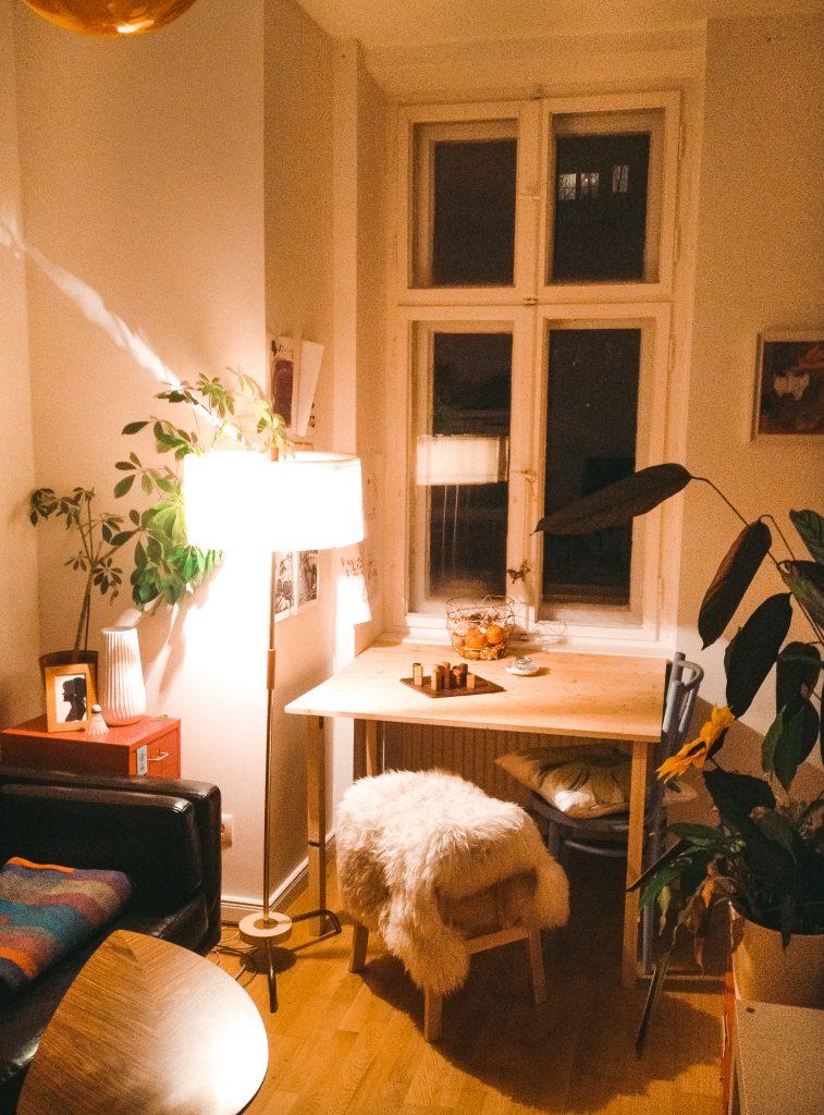 Fridlaas Mini-Wohnung mit 30 Quadratmeter und nur 1,5 Zimmern im Hinterhof von Berlin